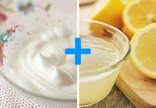 белок сок лимона