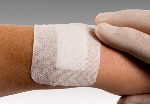 лейкопластырь на руку