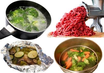 Способы обработки пищи при диете 5