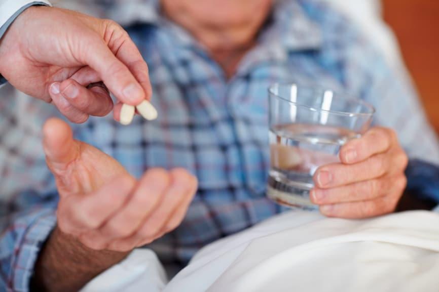 Прием медикаментов от давления