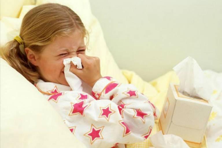 Парагрипп, симптомы у детей