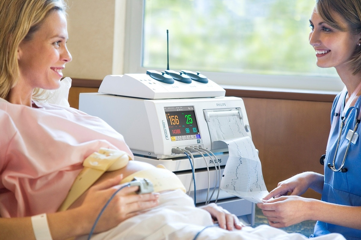 Контроль АД при родах