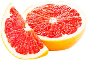 Спелый грейпфрут разрезанный картинка