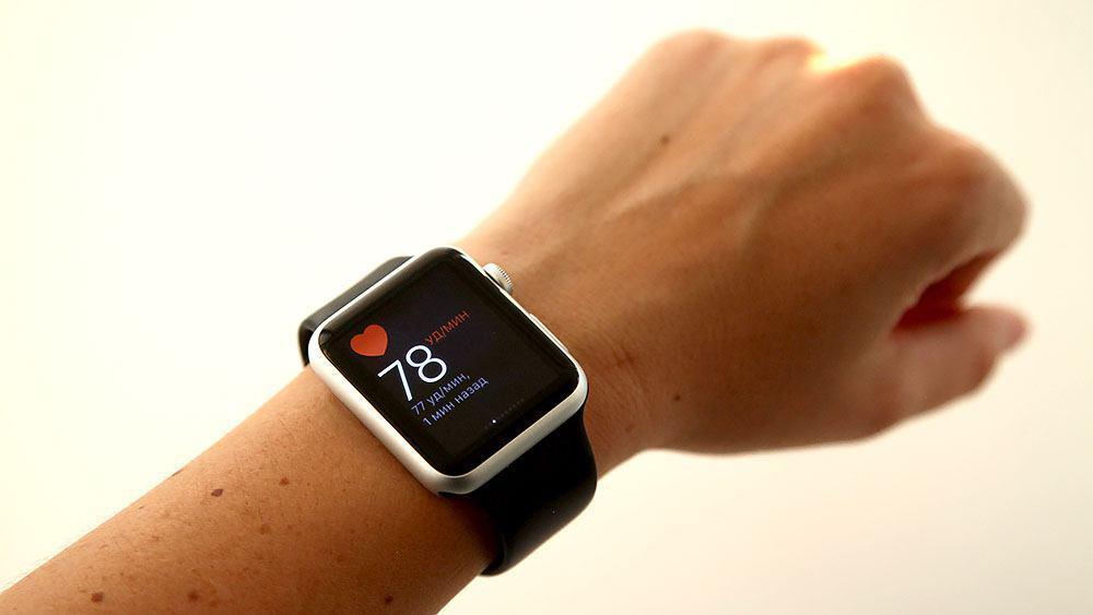 Часы Apple измеряют давление