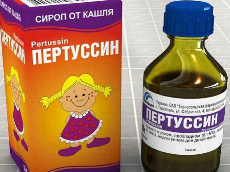 Пертусин или пектусин от кашля, инструкция по применению