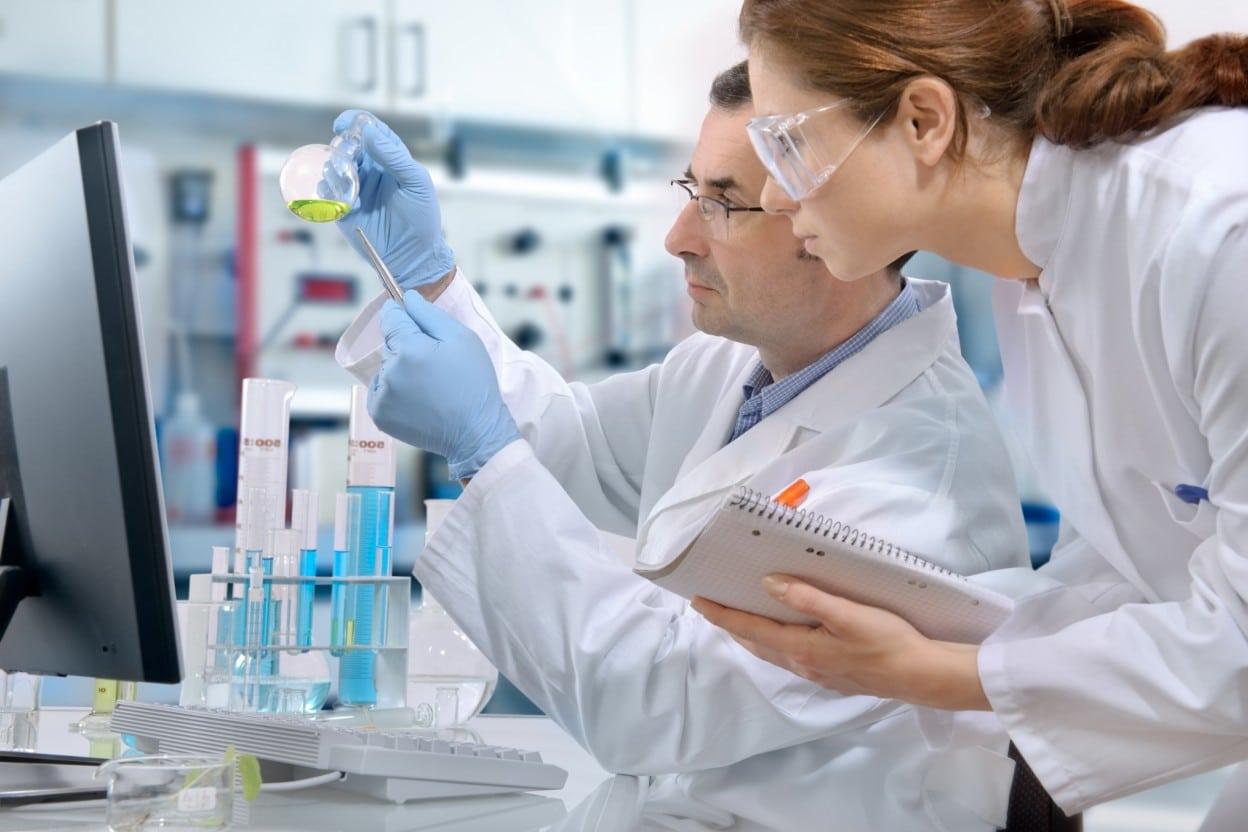 Лаборатория с учеными