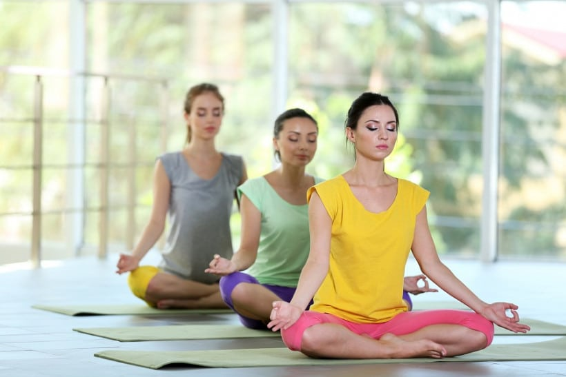 Йога при заболевании гипертонией