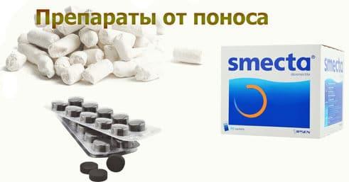 Препараты от поноса