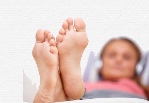 здоровые ступни
