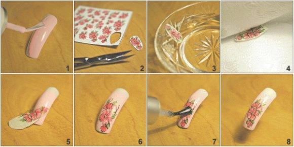 Как пользоваться слайдерами для ногтей