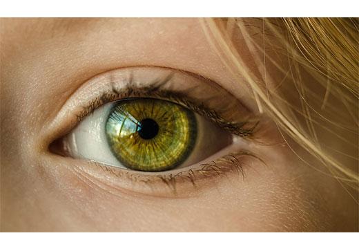 здоровый глаз без папилломы