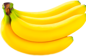Связка спелых бананов картинка