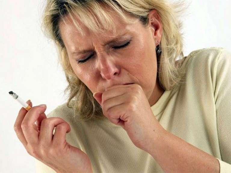 Кашель курильщика, симптомы и лечение, как избавиться