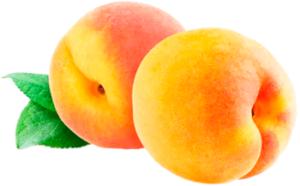 Два спелых персика картинка