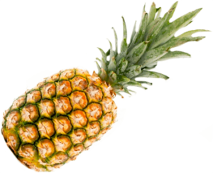 Один спелый ананас картинка