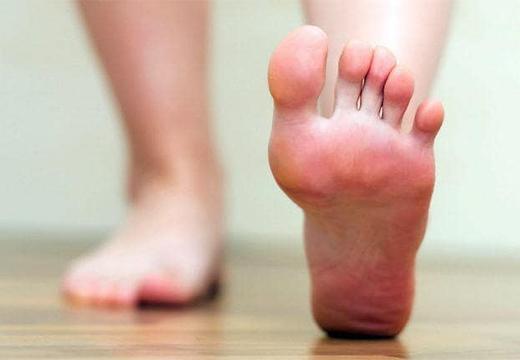 чистые ступни