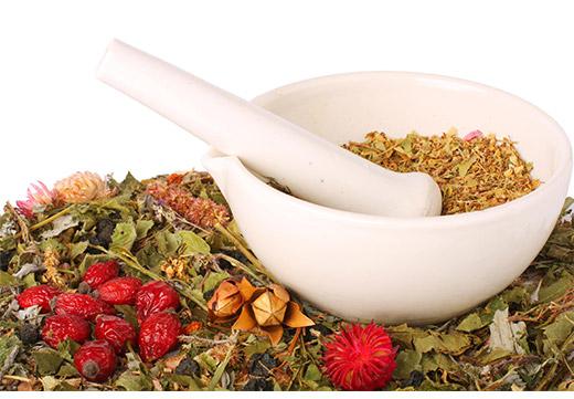 Сухие травы и ягоды для народного лечения бородавок