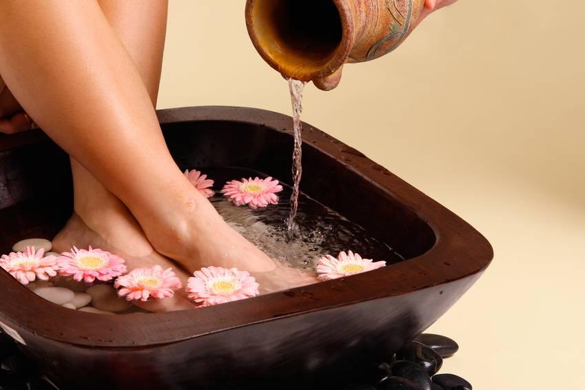 Правила использования ванночек для ног при высоком АД
