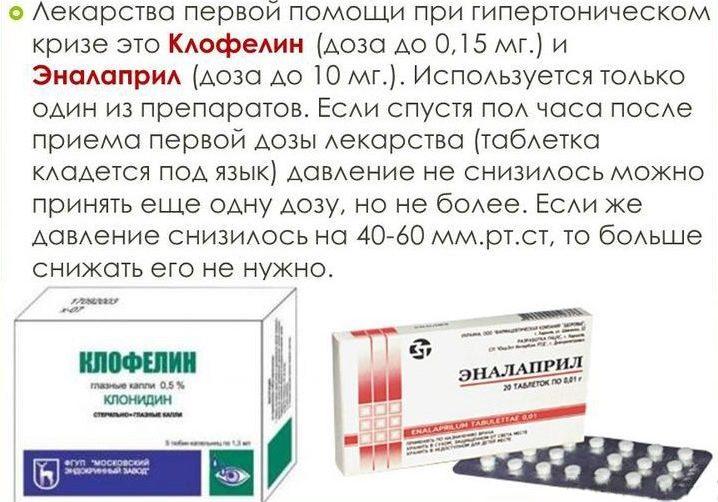 Клофелин при гипертонии