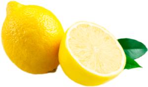 Спелый разрезанный лимон картинка