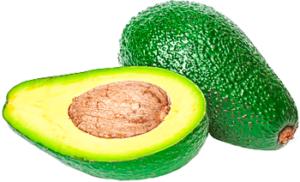 Фрукт авокадо в разрезанном виде картинка