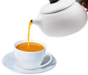 Чай из облепихи в чашке