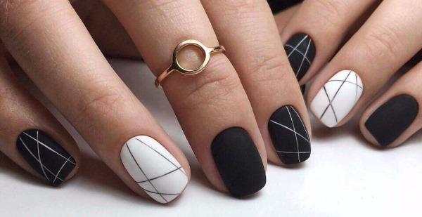 Акварельная техника росписи ногтей