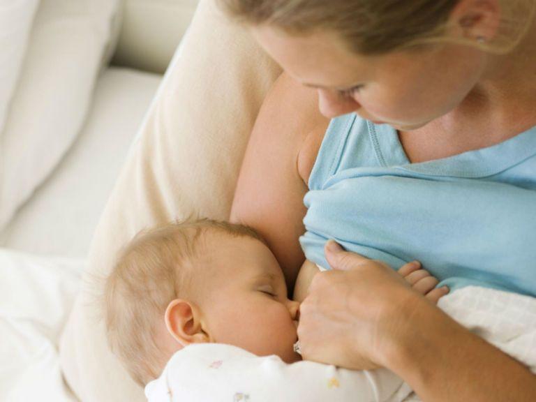 Першение в горле и сухой кашель, лечение при гв